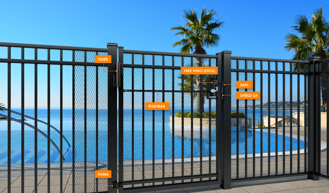 A SAFE AND CHILDPROOF SWIMMING POOL AREA | Locinox USA