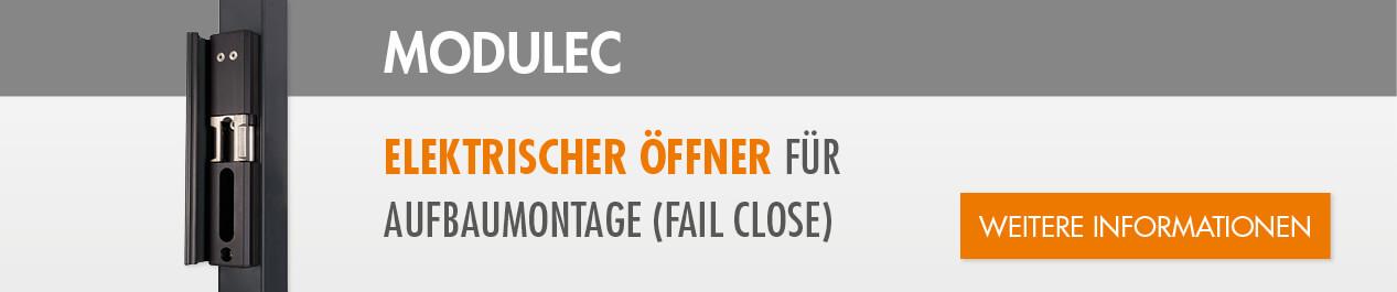 Elektrischer Öffner für Aufbaumontage (fail close)