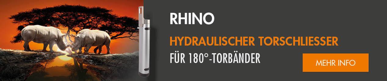 HYDRAULISCHER TORSCHLIESSER FÜR LOCINOX 180°-TORBÄNDE