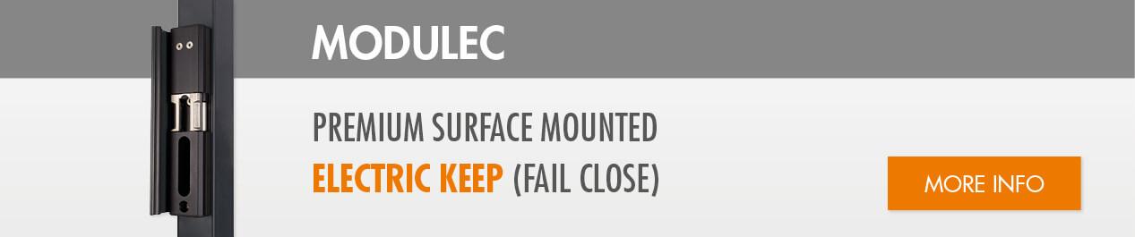 Surface mounted electric keep (fail close)