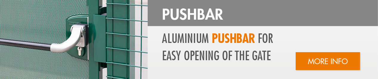 Aluminium Push bar