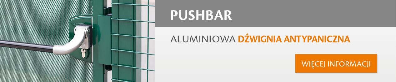 Aluminiowa dźwignia antypaniczna