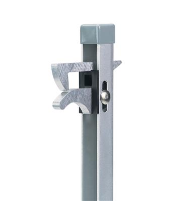 Gate hold-back catch hot-dip galvanized