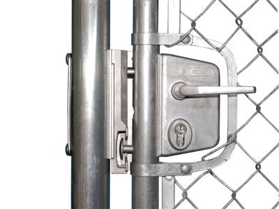 Chain link tension bar adapter