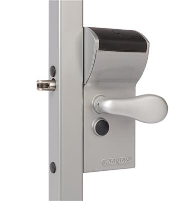 FREE VINCI - Surface mounted mechanical code lock with secured entrance and free exit