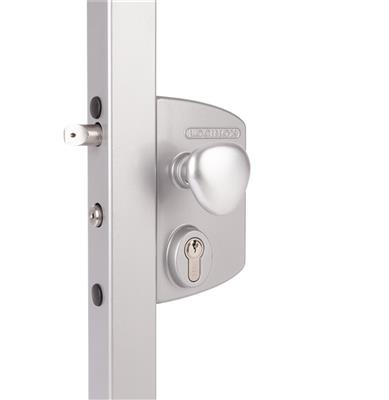 Surface mounted electric gate lock with Fail Close functionality